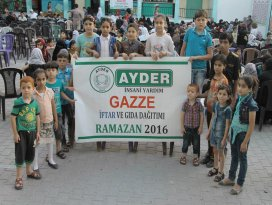 AYDER Gazze'yi unutmadı