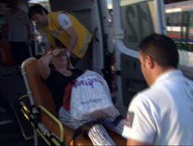 Marmaray istasyonunda yürüyen merdiven arızası: 1 yaralı