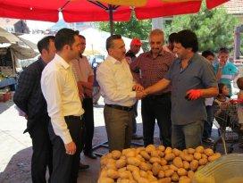 Seydişehir Belediyesi pazarcıları el terminali ile takip ediyor
