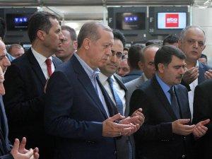 Erdoğandan Atatürk Havalimanına sürpriz ziyaret