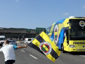 Fenerbahçe kafilesi Düzcede