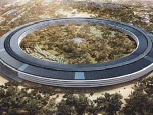 Dünya devinin yeni binası böyle görüntülendi