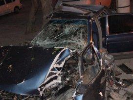 Konyadaki kazada sürücü ağır yaralandı