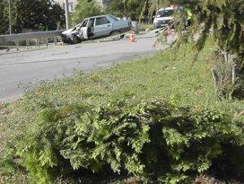 Konyada trafik kazası: 1i ağır, 3 yaralı
