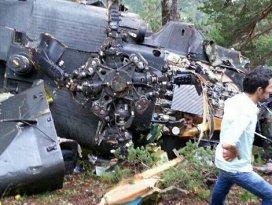 Giresundaki helikopterin düşüş nedeni belli oldu