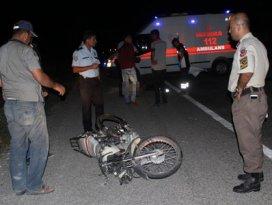 Motosiklet kazasında iki genç hayatını kaybetti