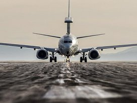 Konyadan kalkan uçak güvenliği sağladı