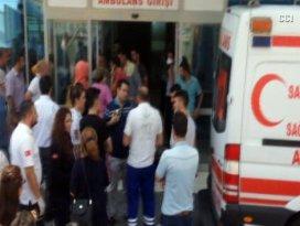 Göğüs hastanesinde korkutan yangın