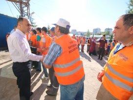 Beyşehir Belediyesi'nde bayramlaşma
