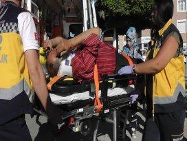 Kulu'da otomobil motosikletle çarpıştı: 1 yaralı