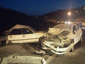 Başkent'te 2 ayrı trafik kazası: 1 ölü, 3 yaralı