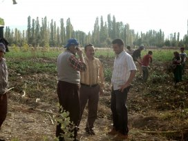 Seydişehirli çiftçilere eğitim