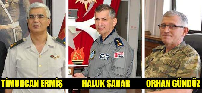 Konyada 3 general hakkında yakalama kararı