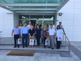 Brezilya Endüstri Eğitim Okullarından NEÜ'ye Ziyaret