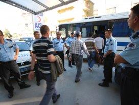 Beyşehir'de 37'si öğretmen 40 kişi adliyeye sevk edildi