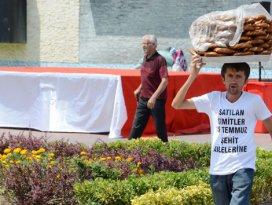 Simitçi, 1 günlük hasılatını Demokrasi Şehitlerine bağışladı