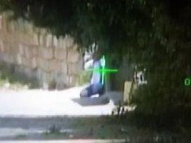 Teröristin vurulma anı saniye saniye böyle görüntülendi