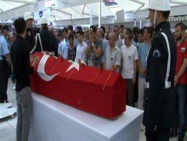 İstanbul şehidini uğurladı