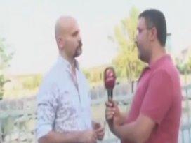 Beyaz TV muhabiri Atalay Demircinin yüzüne tükürdü