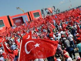 Yenikapı'da demokrasi bayramı