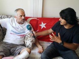 15 Temmuz gazisi: Benim oğlum asker, beni vuran da asker