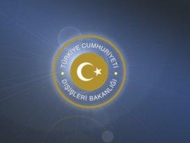 Dışişleri Bakanlığından Yunan Bakana tepki