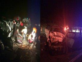 Sivasta feci kaza: 3 ölü, 5 yaralı