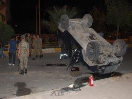 Otomobil ile zırhlı araç çarpıştı: 1 şehit, 2 ağır yaralı