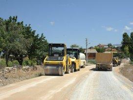 22 km'lik grup yoluna 2,5 milyon lira