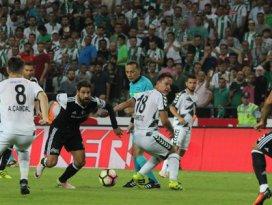 Beşiktaş maçı derbi havasında geçti