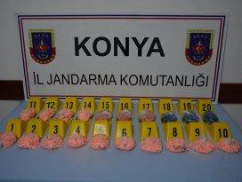 Ereğli'de 10 bin adet uyuşturucu hap ele geçirildi