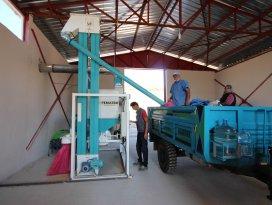 Beyşehir'de tohum eleme tesislerinin sayısı arttı