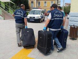 Konyada bomba ihbarı yapılan trenden 15 kilo esrar çıktı