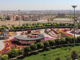 Selçuklu Çiçek Bahçesi ve Macera Kulesi tanıtıldı