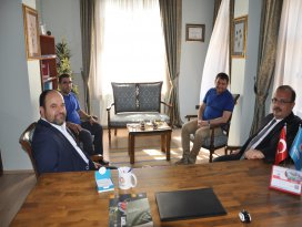 Vali Canbolat'tan TİMAV'a ziyaret