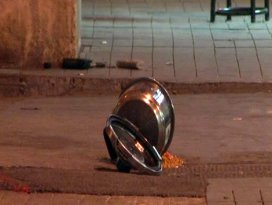Beyoğlunda düdüklü tencere polisi alarma geçirdi