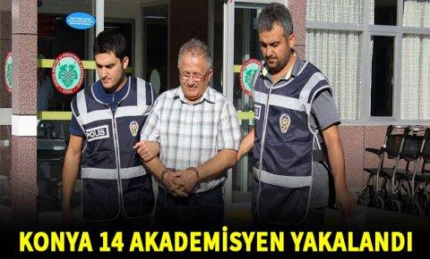 Konyada akademisyenlere FETÖ operasyonu: 14 gözaltı