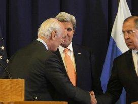 ABD ile Rusya Suriyede ateşkes konusunda anlaştı