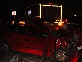 Konyada trafik kazası: 11 yaralı
