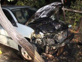 Konyada bir saatte 7 araçta yangın çıktı
