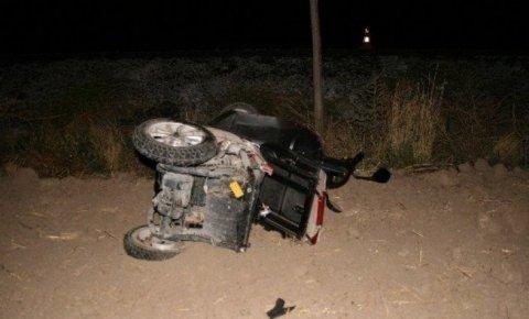 Konyada otomobil elektrikli bisiklete çarptı: 2 ölü