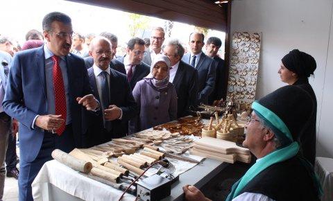 Ateşbaz-ı Veli Mutfak Kültürü Günleri başladı