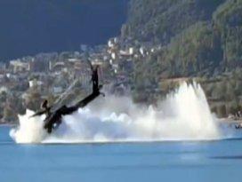 Yunan helikopteri böyle düştü