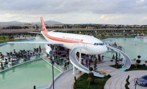 Uçak restoran ve kafe hizmete girdi