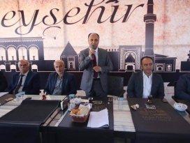 Başkan Özaltun, muhtarlarla istişare toplantısında buluştu