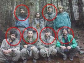 Ordu'da öldürülen teröristler fotoğraf da çekmiş!