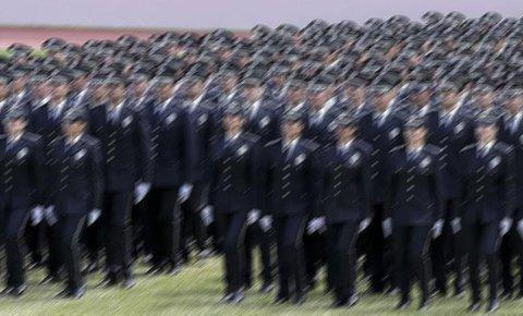 Konya'da 203 polis açığa alındı