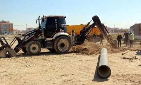7 mahallede su şebeke çalışması tamamlandı