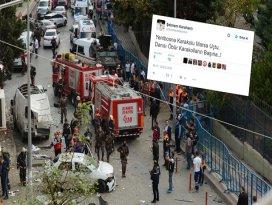 Yenibosnadaki saldırı sonrası skandal paylaşım