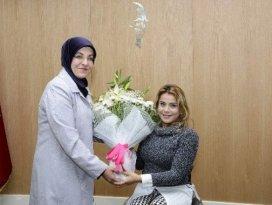 Nazmiye Muratlı, Başkan Toru'yu ziyaret etti